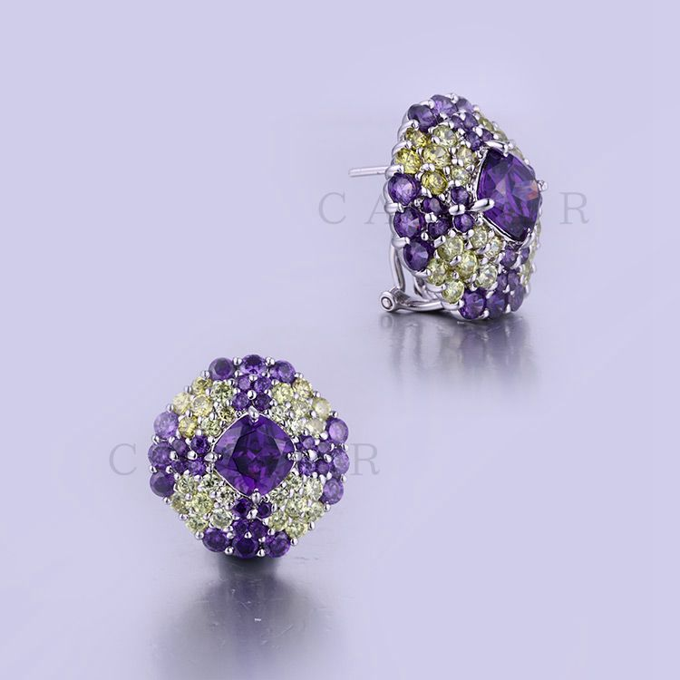 Wholesale High Quality Fashion Jewelry Sterling Silver Earrings K0005E