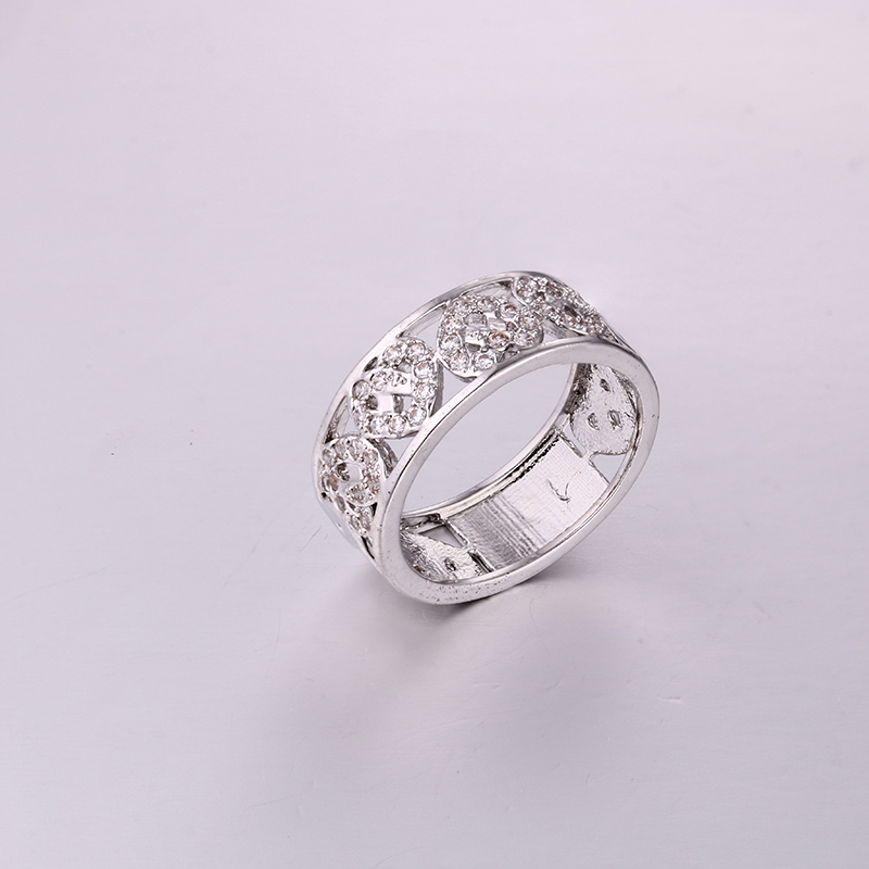 Luxurious Lover CZ Ring K0287R