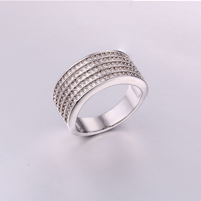 Luxurious Intensive CZ Mens Ring K0288R
