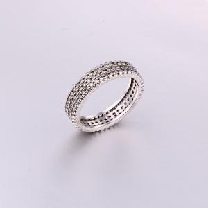 Simple Intensive CZ Ring K0298R