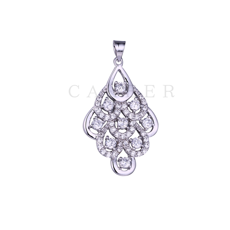 Luxurious Zircon Pendant K0056P