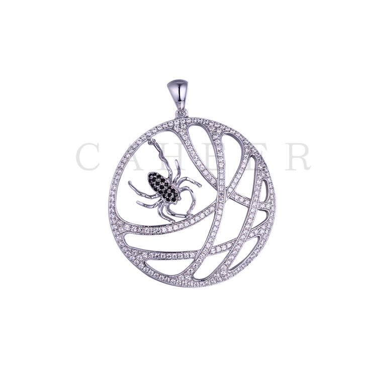 Simple Spider Pattern Pendant K0005P